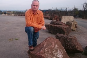 Jeremy Hilton outside Allstone Sand & Gravel