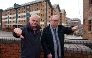 Jeremy Hilton & Declan Wilson give thumbs down to 60 job losses at GCC
